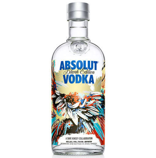 ABSOLUT VODKA BLANK EDITION by Dave Kinsey