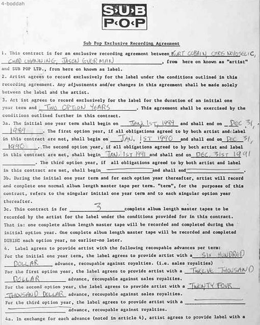 nirvana-1st-contract