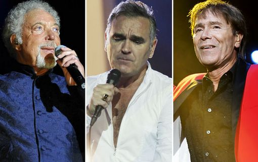 Only in America > O (Sir) Tom Jones και o (Sir) Cliff Richard support στον Morrissey WENN_TOMJ_MOZ_CLIFF_600